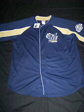 Majestic Men's Milwaukee Brewers Jersey SEWN NWT