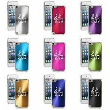 Apple iPod Touch 5th Gen Generation Hard Case Cover Music Notes