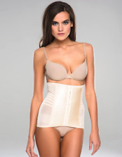 RAGO 821 Black BRIDAL White Cream WAIST CINCHER NIPPER SHAPEWEAR under/outerwear