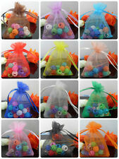 40Pcs 20Color-1&Mixed Organza Jewelry Packing Pouch Wedding Favor Gift Bags9x7cm