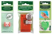 Clover Knitting Stitch Counter Register Craft SELECT YOUR DESIGN!
