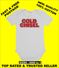 BABY ONE PIECE, ROMPER SUIT ONESIE. featuring  COLD CHISEL on cotton romper suit
