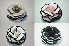 Flower Corsages Accessories Brooch Pin Wedding Bridal Prom Party Hair Jewelry
