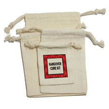Hangover Cure Kit Muslin Cotton Gift Party Favor Bags
