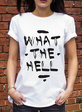 What The Hell Tshirt Avril Lavigne Inspired Funny Grunge Gift T ShirtJ0447
