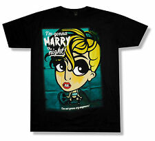 "LADY GAGA ""MARRY THE NIGHT"" BLACK T-SHIRT 2013 CANCELED TOUR NEW OFFICIAL RARE"