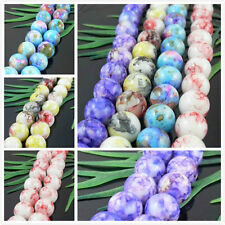 5 Colors 1 Mixed 20Pcs Lightful Glass Pearl Round Spacer Beads 12x12mm
