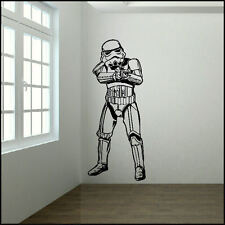 EXTRA LARGE STORM TROOPER STARWARS LIFE SIZE WALL ART STICKER TRANSFER DECAL