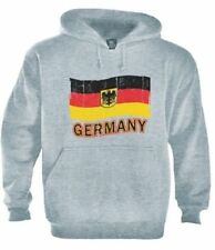 Germany Flag Hoodie Deutschland Soccer Football 2015 World cup Black Eagle