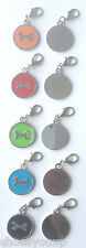 Clip On Personalised Colourful Enamel Dog Bone Pet Tags Engraved Free