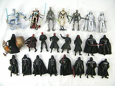 STAR WARS MODERN SITH FIGURES SELECTION - MANY TO CHOOSE FROM !    (MOD 15)