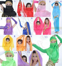 12 colors for chose hot Belly Dance Dancing Costume Chiffon Shawl Veil Scarf