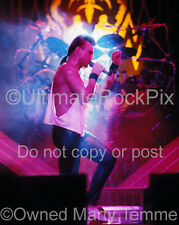 Geoff Tate Photo Queensryche 11x14 Large Size Concert Photo by Marty Temme 1A