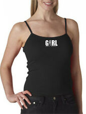 Girl Ain't Right t.m. Spaghetti Tank Tops 100% Ringspun Cotton