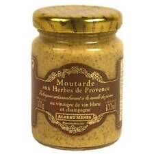 French Albert Menes Moutarde French Gourmet Mustard Different Flavors 100g