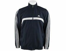 Adidas Mens Jacket Track Top Navy Big Sizes Tracksuit Training Gym Original