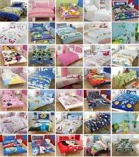 Childrens / Kids Single Duvet Quilt Cover Bedding Sets! - Free P&P Animals
