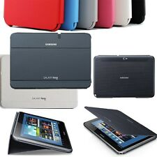 SAMSUNG GALAXY NOTE 10.1 N8000 SLIM BOOK COVER CASE HARD SHELL SLIM STAND 6COLOR