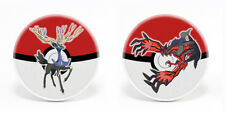 Pokemon X and Y Set of 2 Xerneas and Yveltal 1.25'' Button Pins