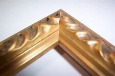 Small Gold Victorian Wood  Picture Frames-Custom Made Panoramic