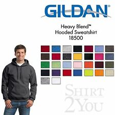 Gildan - Heavy Blend Hooded Sweatshirt - 18500 Size S-5XL 30 different Colors