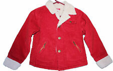 RED CORDUROY JACKET Girls Bongo Coat Sheep Casual Girls Fall Stylish School NEW