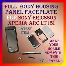 High Quality Full Body Housing Panel Faceplate of Sony Ericsson Xperia ARC LT15i