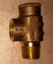 Brass Pressure Relief Valve 75 PSI Water Well Tank Submersible Pump 1/2""