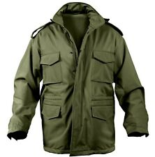 Military Style Soft Shell Tactical M-65 Field Jacket Olive Drab rothco 5744