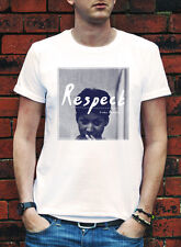 RESPECT Aretha Franklin T-shirt Mens Women Tshirt R&b GIFT Dreamed a dream R045