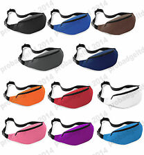 BELT BUM BAG WAIST MONEY POUCH HIP FANNY PACK SPORTS, FESTIVAL,