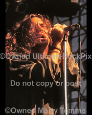 Eddie Vedder Photo Pearl Jam 11x14 Concert Photo in 1992 Marty Temme 1A