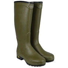 Le Chameau Country Vibram Neo Wellies Wellington Boots with Free Green Welly Bag
