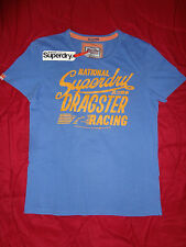 SUPERDRY BLACKLABEL JAPAN Blue Dragster Mens  XL, L  T-Shirt