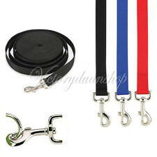 5/10ft Long Dog Puppy Pet Puppy Training Obedience Lead Leash recall 3 Colors