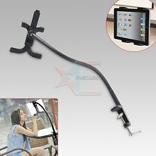 360º Flexible Table Desk Mount Holder Stand for iPad Mini 1 2 3 4 Galaxy Tablet