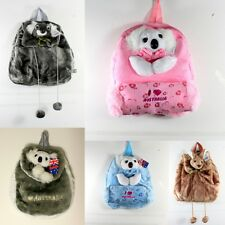 NEW Plush Australian Animal Souvenir Backpack Shoulder Bag Kangaroo Koala