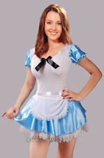 Sexy Alice in wonderland Fancy Dress Adult Costume Size S-2XL Halloween BC A016