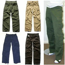 Mens Army Tactical Combat Military Cargo Pants - Work/Camp/Fishing/Hunting