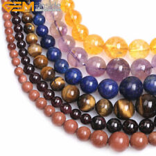 "Graduated Stone Loose Beads For Jewelry Making 15"" Jewelry Beads in Lots"