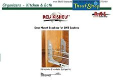 Rev-A-Shelf Large Pull-Out Organizer Door Mount Bracket for 5WB Baskets