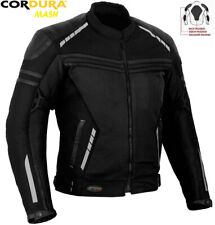 WIND MAX MENS MESH AIR VENT TECHNOLOGY CE ARMOURS MOTORBIKE / MOTORCYCLE JACKET