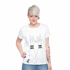 Kraftklub - Finger Women T-Shirt White