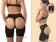 NWT 3in1 FIRM FLATTER TUMMY SLIMMING THIGH BUTT LIFTER DOUBLE OPEN OO BOYSHORTS