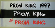 MENS CHEAP HALLOWEEN FANCY DRESS COSTUME ZOMBIE PROM KING SASH FAKE BLOOD
