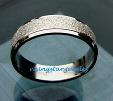 Men Galaxy Stardust Stainless Steel Fashion Wedding Band Ring Size 9,10,11,12.5