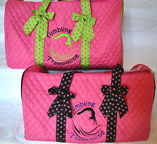 Personalized Quilted Large Duffle Bag w/ FREE Customized Embroidery! Many Styles