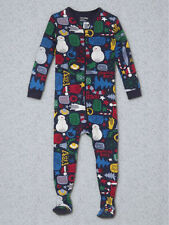 NEW GAP HOLIDAY FOOTED SLEEPER PAJAMA SIZE 6-12M 18-24M