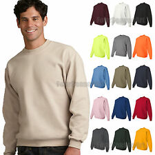 JERZEES SUPER SWEATS Crewneck Sweatshirt 50/50 Mens Fleece S-3XL 4662MR-4662