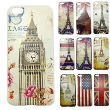 NEW PJ Hard Snap On Protector Case Cover Skin For Apple iPhone 5C Eiffel Tower